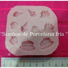 Molde Silicona Postres Cupcakes Mini Tortitas