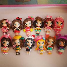 Dindy Amigurumi N'craft, polymer clay, fimo, cold porcelain, masa flexible, porcelana fria, cernit, biscuit