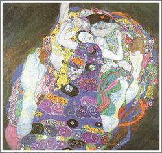 Gustav Klimt「The Virgin(処女)」