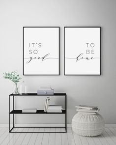 Its So Good To Be Home Printable Sign Set Bedroom Quote Decor Living Room Wall Art Prints Insta Wall Decor Living Room Art Bedroom decor good Home insta living Printable Prints Quote room Set Sign Wall Living Room Art, Interior Design Living Room, Living Room Quotes, Living Room Prints, Living Room Wall Decor Canvas, Living Room Wall Ideas, Bedroom Prints, Living Room Decor Simple, Living Area