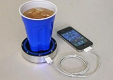 The Epiphany One Puck project on Kickstarter is looking to charge up your phone by harnessing the power of hot and cold drinks. Read this article by Amanda Kooser on CNET. via @CNET