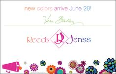Vera Bradley From Camp to Campus! June 28th!
