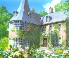 background art ghibli studio art doomdee | Doomdee