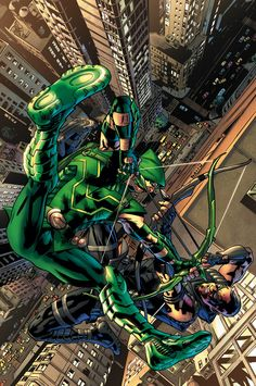 GREEN ARROW #37 Written by ANDREW KREISBERG and BEN SOKOLOWSKI Art by DANIEL SAMPERE and JONATHAN GLAPION Cover by BRYAN HITCH On sale DECEMBER 3 • 32 pg, FC, $2.99 US • RATED T Blood will be shed when Green Arrow faces off against the assassin known as Merlyn!