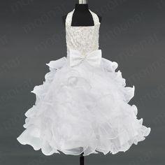 Glitz Flower Girls Pageant Dresses CUSTOM Size 8/10/12/14 Party ...