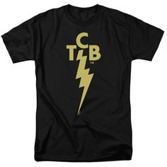 Behold the Elvis Presley - TCB Logo Adult T-Shirt. Now you can be part of the hype with this black colored, officially licensed t-shirt made of 100% pre-shrunk cotton. This t-shirt is perfect for a tr