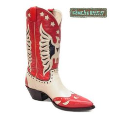 Red Tribute Cowboy Boots, $499 - All-Leather Cowboy Boots - Handmade Cowboy Boots