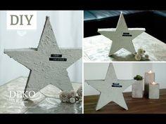 DIY: Deko-Beton-Adventsstern aus Schaumstoff   Deko Kitchen