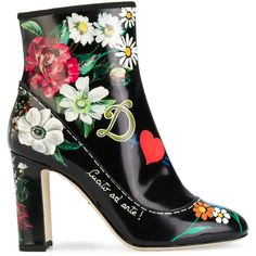 7a3a97f0522 Dolce  amp  Gabbana printed ankle boots ( 1