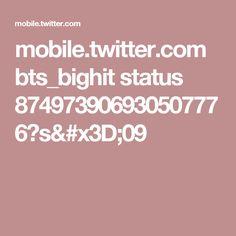 mobile.twitter.com bts_bighit status 874973906930507776?s=09