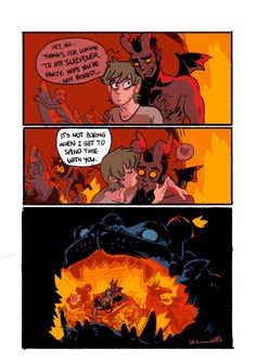 """005 - Sleepover """"Best slumber party eva~!"""" Written and illustrated by tohdaryl. #tohdaryl #tobiasthedemonandguy"""