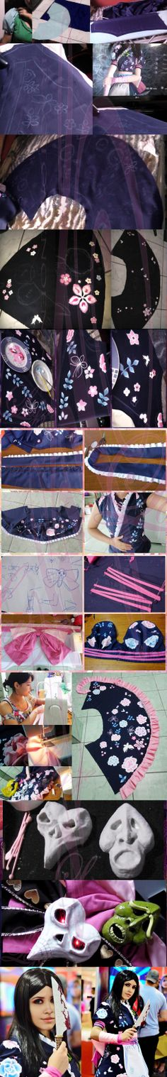 Technically not a tutorial per se, but an AWESOME WIP from laahmichelle! :D    Alice Madness Returns - Silk Maiden Progress by laahmichelle