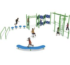 Activity Route | Fitness Playground $15,124