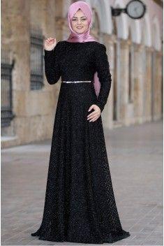 6da5e4773710b Ahunisa Pırıl Elbise Siyah in 2019 | Elbiseler | Elbiseler, Giyim ...