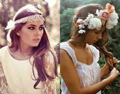 head pieces for style.
