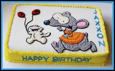 Toopy and Binoo cake Birthday Cakes, 2nd Birthday, Birthday Ideas, Happy Birthday, Buttercream Icing, Homemade Cakes, Baking Ideas, How To Make Cake, Cake Ideas