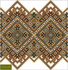 Cross Stitch Geometric, Cross Stitch Bird, Cross Stitch Borders, Cross Stitch Designs, Cross Stitching, Cross Stitch Patterns, Embroidery Motifs, Cross Stitch Embroidery, Embroidery Designs