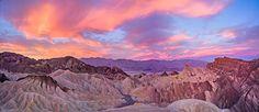Sunrise, Zabriskie Point, Death Valley, California