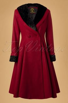 Bunny Vivien Coat in Burgundy Red 152 20 13452 20140625 0009W