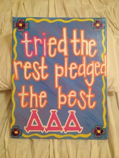 Fun gift for a Tri Delt friend, little, or yourself