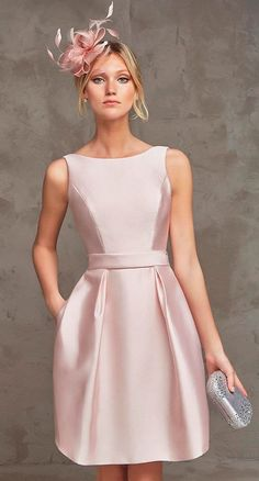 Simple-Dress offers Prom Dresses UK, Special Occasion Dresses, Designer Wedding Dresses, Wedding Party Dresses and Bridal Accessories With cheap prices. Elegant Dresses, Pretty Dresses, Beautiful Dresses, Cocktail Outfit, Short Cocktail Dress, Cocktail Dresses, Belted Dress, Dress Up, Pink Dress