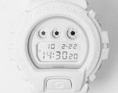 CASIO G-SHOCK – DW-6900 – WHITE