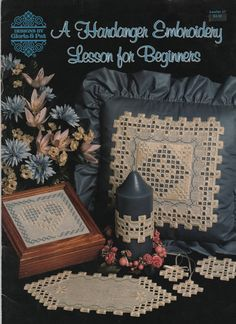 Hardanger Embroidery Lesson for Beginners Pattern by creekyattic, $5.00