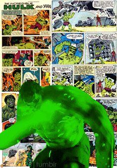 Comic Book Superheroes: Hulk