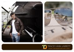 Aviator Engagement Session. Wings Over Miami Air Museum. PhotoNotions Photography, LLC  www.tjphotonotions.com