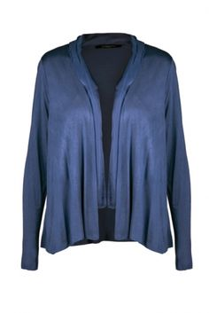 Loraine Petrol  Price: € 29.00  Silk and cotton cardi.  Perfect for keeping the chill away.