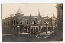 1910 era Canby Minnesota MN National Citizens Bank Corner of Main & Second RPPC