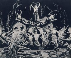 George Méliès, 20,000 Lieues Sous les Mers (20,000 Leagues Under the Sea), 1906.  (available to view on YouTube).