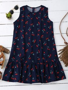 SHARE & Get it FREE | Sleeveless Cherry Ruffle DressFor Fashion Lovers only:80,000+ Items • New Arrivals Daily • FREE SHIPPING Affordable Casual to Chic for Every Occasion Join Zaful: Get YOUR $50 NOW!