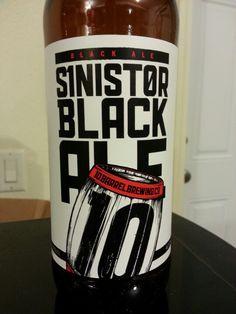 Sinister Black Ale - 10 Barrel Brewing Co