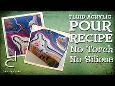 Acrylic Pouring Cells Without Torching or Silicone - Acrylic Pouring