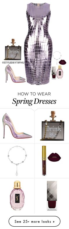 """Reflections..."" by iwillmakeithappen on Polyvore featuring Cecilia Ma, Paco Rabanne, Christian Louboutin and Burberry"