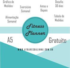 fitness planner me português gratuito - planner de dietas