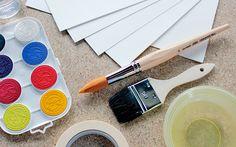 sokeriakvarelli_tarvikkeet Easter Drawings, School Craft, Diy And Crafts, Craft Ideas, Gifts, Presents, Diy Ideas, Gifs, Favors