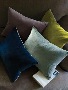Velvet & Linen Cushion Covers £17.50