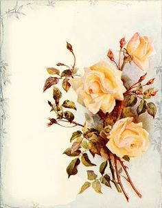 Vintage Roses Background ~ MI BAUL DEL DECOUPAGE