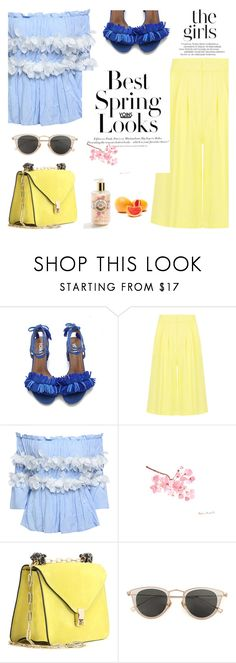 """""""Best spring look! - Yoins15"""" by mell-m ❤ liked on Polyvore featuring H&M, Valentino and Issey Miyake"""