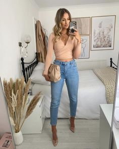 Classy Going Out Outfits, Cute Summer Outfits, Cute Outfits, Modest Fashion, Boho Fashion, Fashion Outfits, Gucci Outfits, Night Out Outfit, Pregnancy Outfits