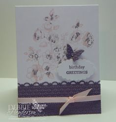 Stampin' Up! Elements of Style by Debbie Henderson, Debbie's Designs.