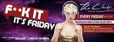 Fridays at The Club Khaosan F**K It It's Friday. #Bangkok #Clublife #Nightlife @darkndeepbkk