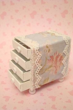 Shabby Chic Matchbox Drawer