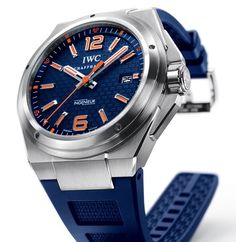 Plastiki Watch - IWC: IWC Commemorative watch for the Plastiki Expedition to the Eastern Garbage Patch.