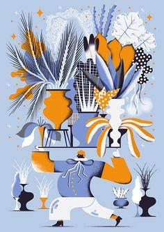 Karol Banach | Personal Illustrations 2014 winter on Behance