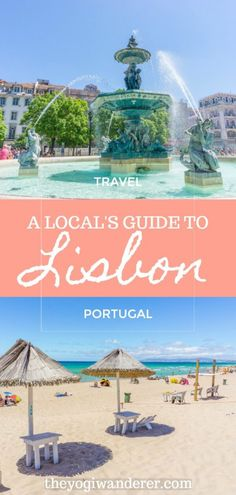 3 Days in Lisbon Portugal: The Ultimate Lisbon Travel Itinerary by a Local. Things to do in Lisbon including the must see attractions of Alfama Castle Belem LxFactory and much more. Plus tips on the best beaches food restaurants and where to stay. Europe Travel Tips, European Travel, Travel Guides, Places To Travel, Traveling Europe, Spain Travel, Asia Travel, Italy Travel, Belem