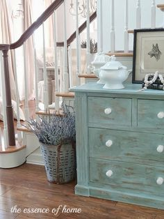 The Essence of Home: Chest of Drawers Makeover