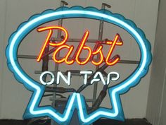 Pabst On Tap Neon 1979  SOLD